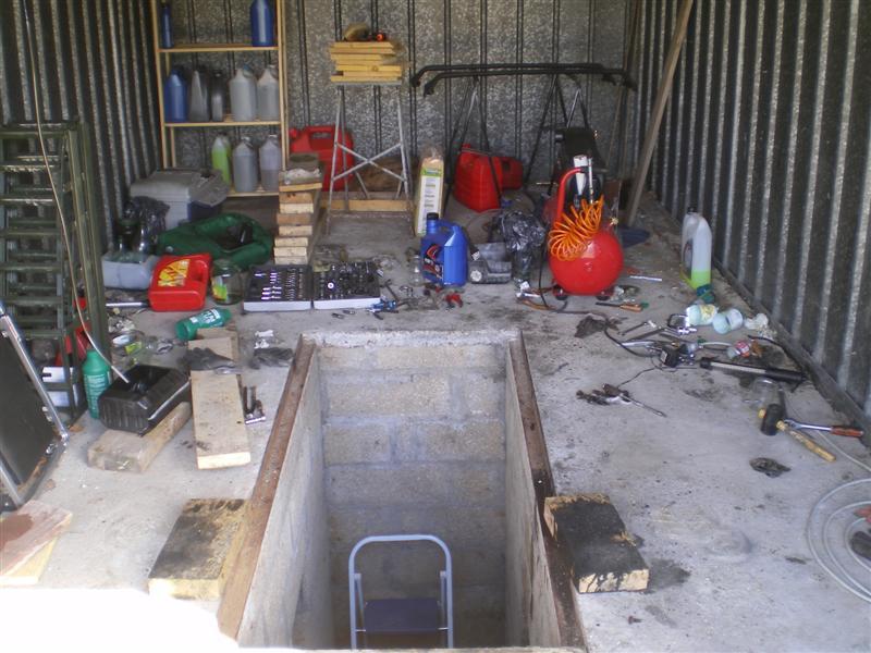 Mai 2012 jilks for Faire une fosse de garage