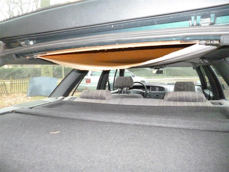 recoller ciel de toit voiture conseils avis pour recoller une partie du ciel de toit tuto r. Black Bedroom Furniture Sets. Home Design Ideas